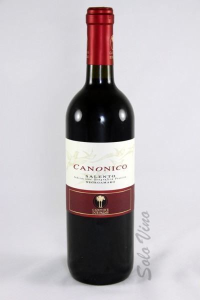 Canonico Negroamaro 2013