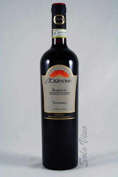 Barolo Pichemej Riserva 2005