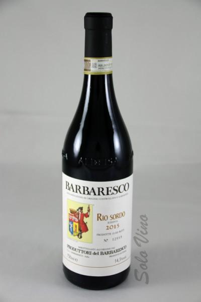 Barbaresco Riserva Rio Sordo 2015