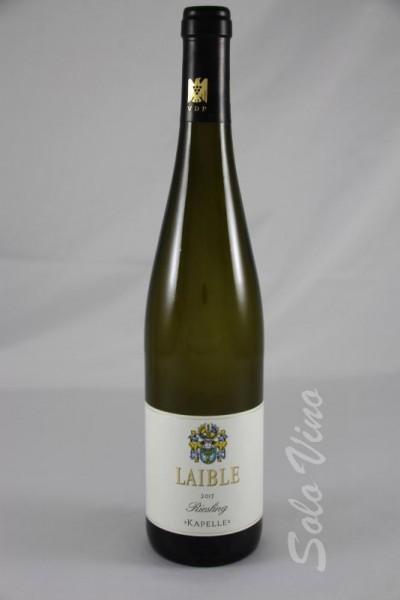 Riesling 2017 - KAPELLE - 2017 Durbacher Plauelrain