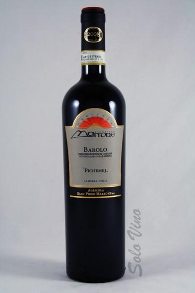 Barolo Pichemej 2008